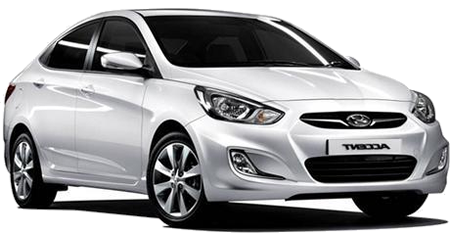 Hyundai Accent Blue